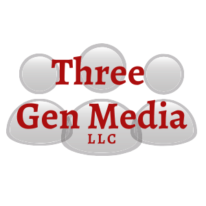 Three Gen media LLC Logo Square